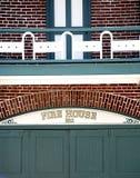 Het Huis Nr 1 van de brand royalty-vrije stock afbeeldingen