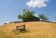 Het huis op de heuvel Royalty-vrije Stock Afbeelding