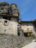 Het huis op de rots Royalty-vrije Stock Afbeelding