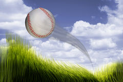 Het huis stelt Honkbal in werking Royalty-vrije Stock Afbeelding