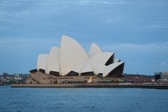 Het Huis Sydney van de opera stock afbeeldingen