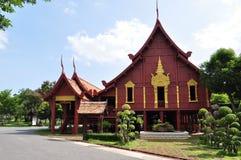 Het huis in Thaise stijl royalty-vrije stock fotografie