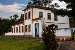Het Huis van Acores in Biguacu stock fotografie