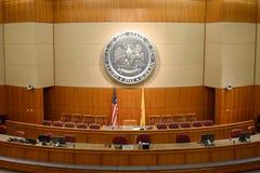 Het Huis van Afgevaardigden van New Mexico en Senaatskamer royalty-vrije stock afbeelding
