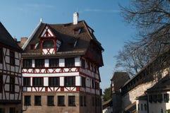 Het Huis van Albrecht Durer's Stock Foto