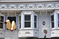 Het huis van Asbury van Haight in San Francisco Royalty-vrije Stock Afbeeldingen
