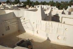 Het huis van Berber in Ghadames, Libië Royalty-vrije Stock Fotografie