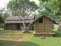 Het huis van Bodo Kachari Royalty-vrije Stock Fotografie