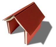 Het huis van boeken Royalty-vrije Stock Afbeeldingen