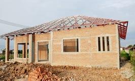 Het huis van Buildding Stock Foto