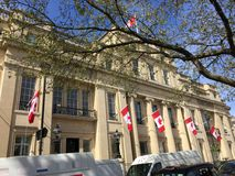 Het huis van Canada Stock Afbeelding