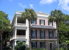 Het huis van Charleston Stock Afbeelding