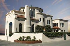 Het Huis van de Adobe van de luxe Royalty-vrije Stock Afbeeldingen