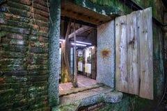 Het Huis van de Anpingsboom bij Anping-District, Taiwan op 20 September, 2018 Dit oude pakhuis wordt behandeld door vertakt van o royalty-vrije stock afbeelding