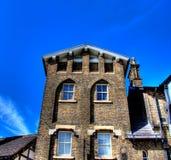 Het huis van de baksteen Royalty-vrije Stock Foto's