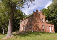 Het huis van de baksteen Stock Afbeeldingen