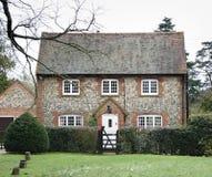 Het Huis van de baksteen en van de Vuursteen royalty-vrije stock fotografie