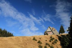 Het huis van de berg Royalty-vrije Stock Fotografie