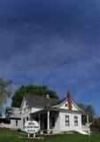 Het Huis van de Bijlmoord in Villlisca, Iowa stock afbeelding