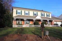 Het Huis van de boerderij royalty-vrije stock fotografie