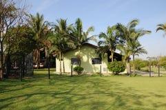 Het huis van de boerderij stock fotografie