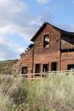 Het Huis van de Boerderij van Haynes, Osoyoos, Brits Colombia Royalty-vrije Stock Foto