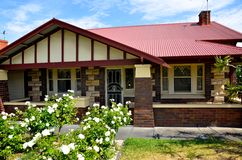 Het huis van de bungalow in Australië Stock Afbeeldingen
