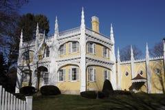 Het Huis van de Cake van het huwelijk royalty-vrije stock afbeeldingen