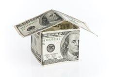 Het huis van de dollar Royalty-vrije Stock Foto