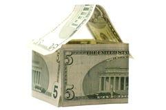 Het Huis van de dollar Stock Foto