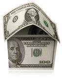 Het huis van de dollar Stock Afbeelding