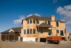 Het huis van de droom Royalty-vrije Stock Afbeelding