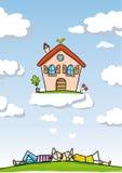 Het Huis van de droom Stock Foto's