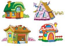 Het huis van de dwerg stock illustratie