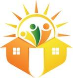 Het huis van de energie royalty-vrije illustratie