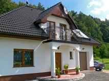 Het huis van de familie Stock Fotografie