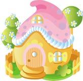 Het huis van de fee royalty-vrije illustratie