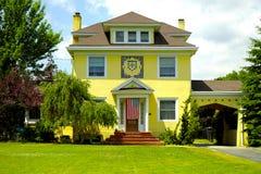 Het Huis van de gipspleister Royalty-vrije Stock Foto's