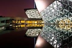 Het Huis van de Guangzhouopera stock foto's