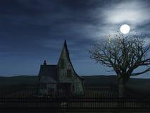 Het huis van de heks Stock Foto's