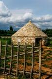 Het huis van de herder Stock Foto's