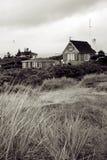 Het huis van de het huisvakantie van het strand royalty-vrije stock afbeeldingen