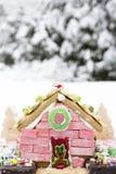 Het huis van de Kerstmispeperkoek Stock Foto