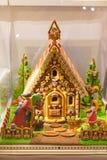 Het huis van de Kerstmispeperkoek Royalty-vrije Stock Foto