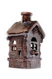 Het huis van de klei Stock Afbeeldingen