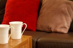 Het huis van de koffie Stock Foto
