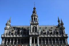Het huis van de Koning in Grote Markt, Brussel Royalty-vrije Stock Afbeelding