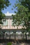 Het huis van de kozak in Veshenskaia Royalty-vrije Stock Afbeelding