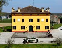 Het Huis van de landbouwer Stock Foto's