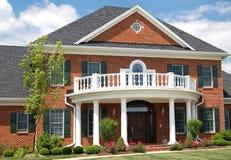 Het huis van de luxe Stock Foto's